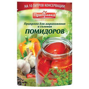 Приправка, 45 г, Приправа для соління помідорів, м/у