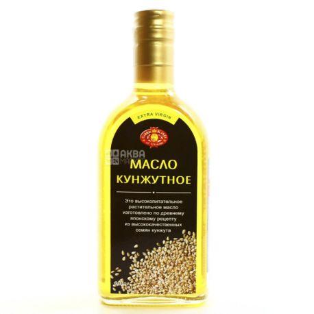 Golden Kings of Ukraine масло кунжутное, 350 мл, стеклянная бутылка