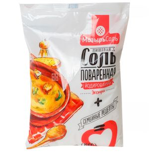 Золотий зубр, 1кг, Йодована сіль, Екстра, М / у