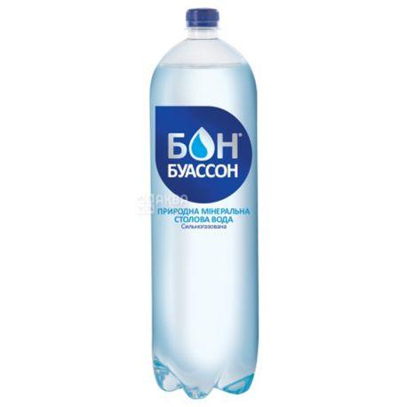 Бон Буассон, 2 л, Вода минеральная сильногазированная, ПЭТ