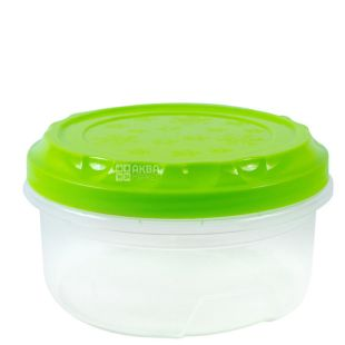 """Bank """"Premium"""" with a lid on a thread assorted, 0.5 l, (126x126x59 mm)"""