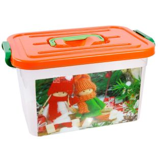 "Container ""Children"" with an insert, assorted, 6.3 l, 190x275x160 mm"