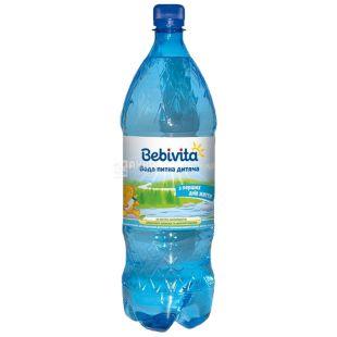 Bebivita, 1,5 л, Упаковка 6 шт., Бебівіта, Вода дитяча негазована, з перших днів життя, ПЕТ