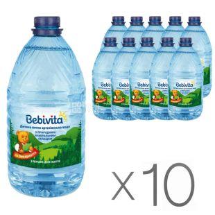 Bebivita, 5 л, Упаковка 10 шт., Бебівіта, Вода дитяча негазована, з перших днів життя, ПЕТ