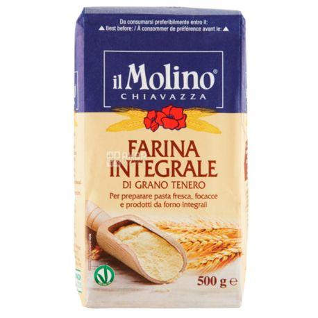 Il Molino, Мука грубого помола, 0,5 кг, Пакет бумажный