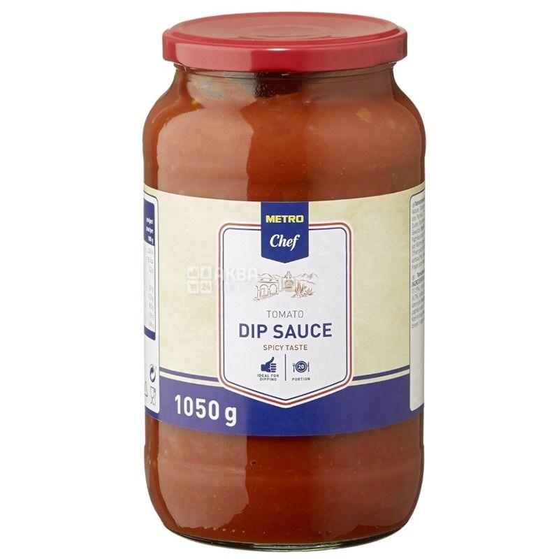 Mеtro Chef соус томатный острый, 1050 г, стекло