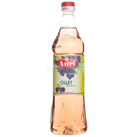 Anri Уксус винный 6%, 850 мл, пластиковая бутылка