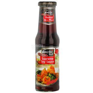 Exotic Food соус соевый  Supreme Soy Sauce, 250 мл, стеклянная бутылка