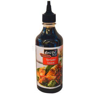 Exotic Food Соус Теріякі, 450 мл, пластикова пляшка
