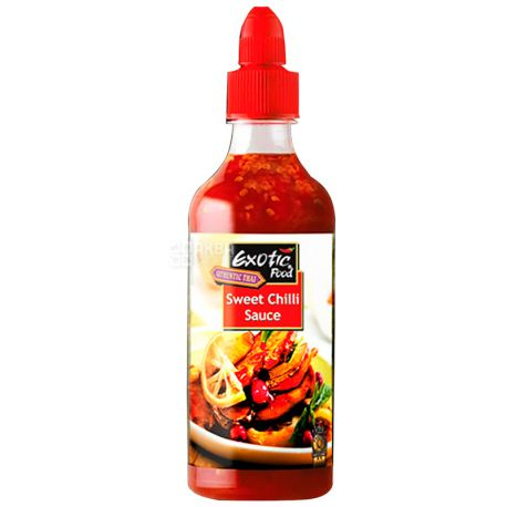Buy Exotic Food Sweet Chili Sauce 455 Ml Plastic Bottle With Delivery Price And Review In Aquamarket