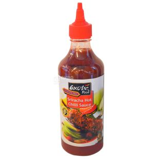 Exotic Food, соус Шрірача, 450 мл, пластикова пляшка