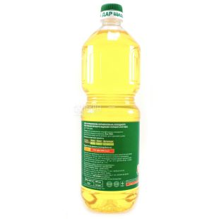 Generous Gift, 850 ml, Sunflower oil, Unrefined, First cold pressed, PET