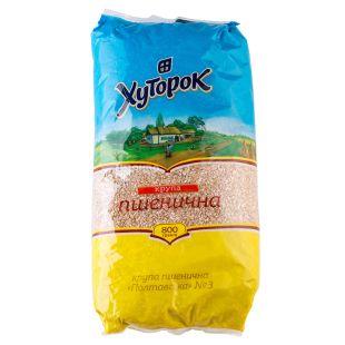 Khutorok, 800 g, Groats, Wheat, m / y