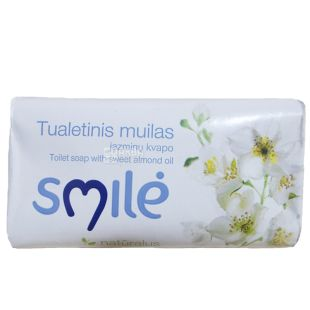 Ringuva Smile, Jasmine Scent Toilet Soap, 100 g