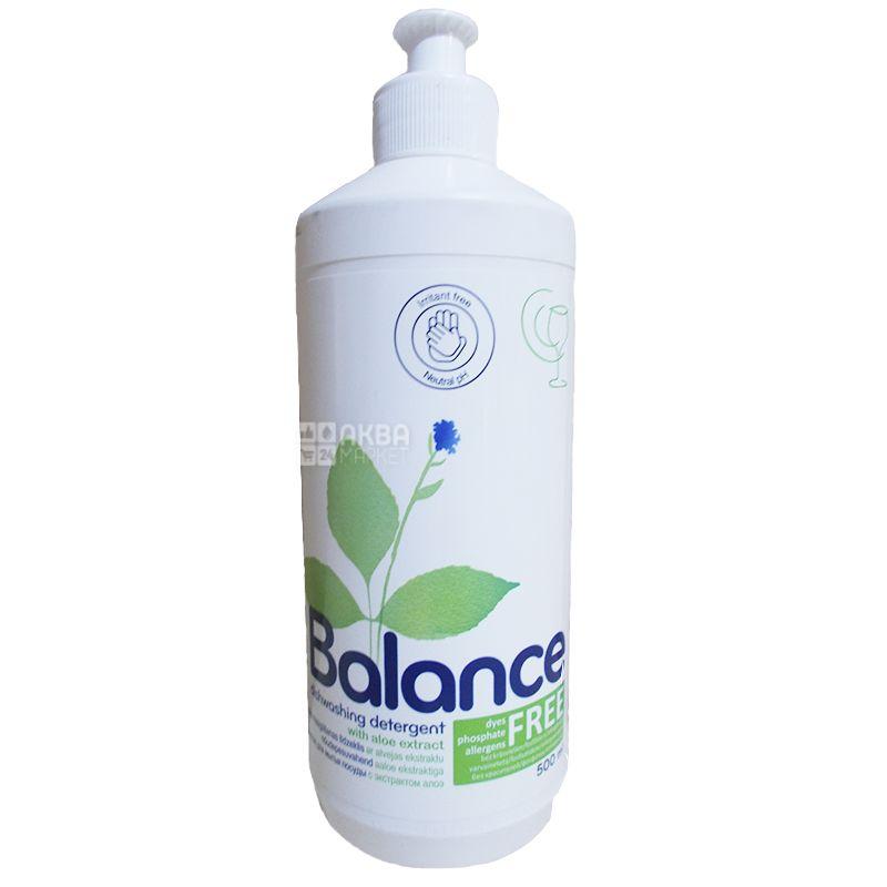 Ringuva Balance, Засіб для миття посуду з алое, 500 мл