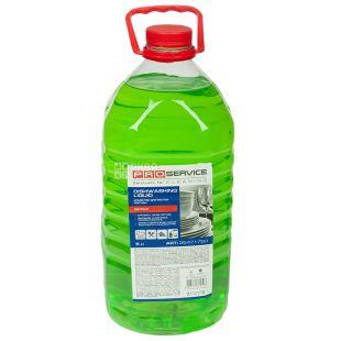 PRO service, 5 l, Dishwashing detergent, Economy, Apple, PET