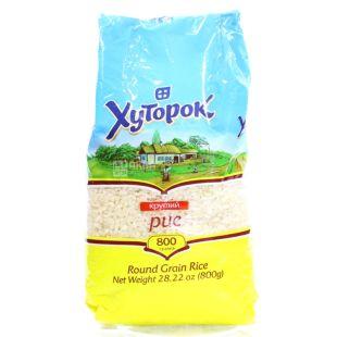 Khutorok, 800 g, Rice, Polished, Grained, Grade 1