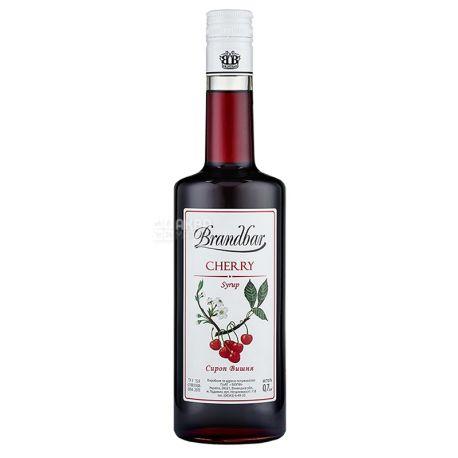 Brandbar, Cherry, 0,7 л, Сироп Брендбар, Вишня, скло