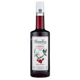 Brandbar, Cherry, 0,7 л, Сироп Брендбар, Вишня, стекло