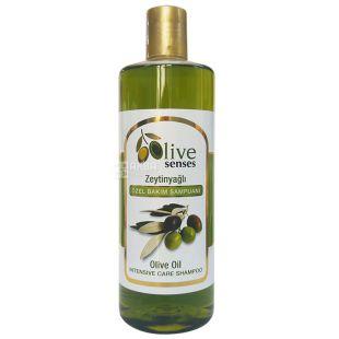 Selesta Senses, Шампунь для волосся з оливковою олією, 500 мл