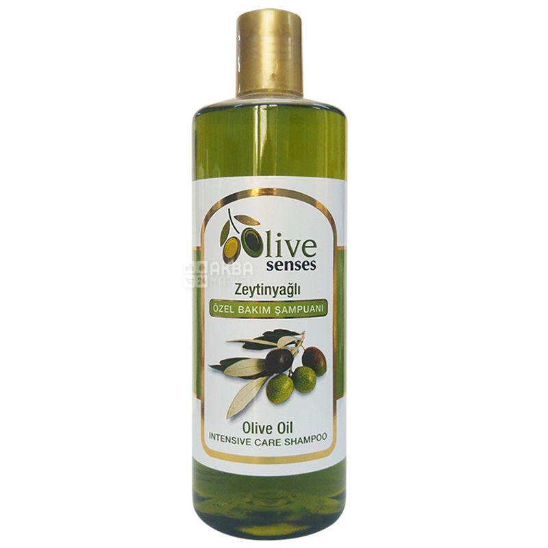 Selesta Senses, Шампунь для волос с оливковым маслом, 500 мл