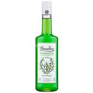 Brandbar Estragon, Tarragon Syrup, 0.7 L, glass