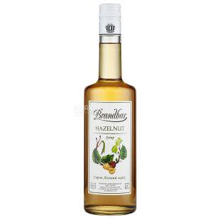 Brandbar Hazelnut, Hazelnut Syrup, 0.7 L, glass
