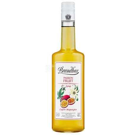 Brandbar, Passion fruit, 0,7 л, Cироп Брендбар, Маракуйя, стекло
