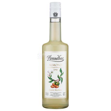 Brandbar Almond, Cироп Миндаль, 0,7 л, стекло