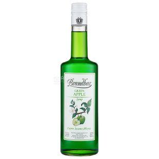 Brandbar Green Apple, Сироп Зеленое Яблоко, 0,7 л, стекло