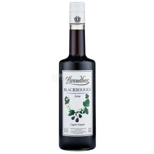 Brandbar Blackberries, Blackberry Syrup, 0.7L, glass
