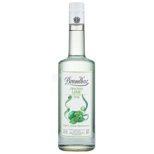 Brandbar Lime, 0,7л, Сироп Брендбар, Лайм, стеклo