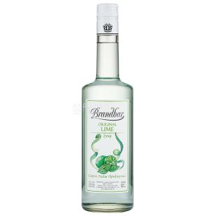 Brandbar Сироп Лайм ориджинал, 0,7л, скляна пляшка
