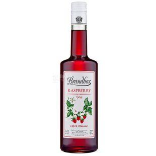 Brandbar Raspberry, Syrup Malina, 0.7l, stecco
