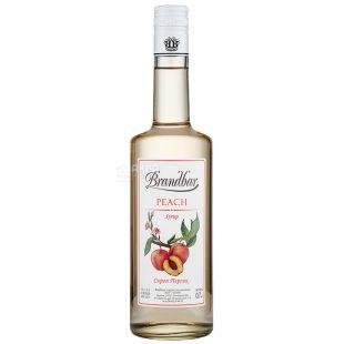 Brandbar Сироп Персик, 0,7л, скляна пляшка