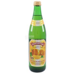 Грузинський букет, Упаковка 12шт по 0,5 л, Лимонад, Апельсин, Скло