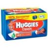 Huggies, 144 шт., вологі серветки, Classic Дуо