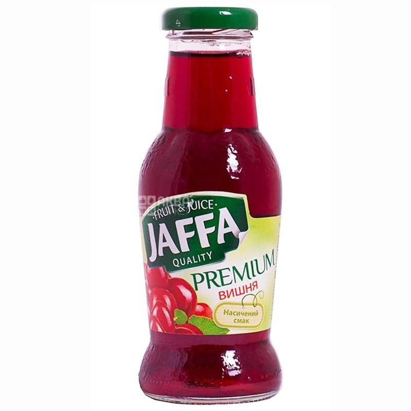 Jaffa, Premium nectar, Вишневый, Упаковка 6 шт. по 0,25 л, Джаффа, Нектар натуральный, стекло