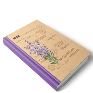 Wound, Business diary, Vintage flower (undated), ECO, 192 l.
