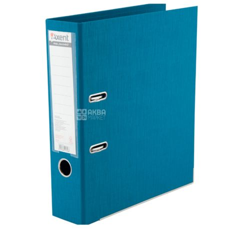 Axent Prestige+, Папка-регистратор голубая, формат А4, корешок 7,5 см, картон, металл