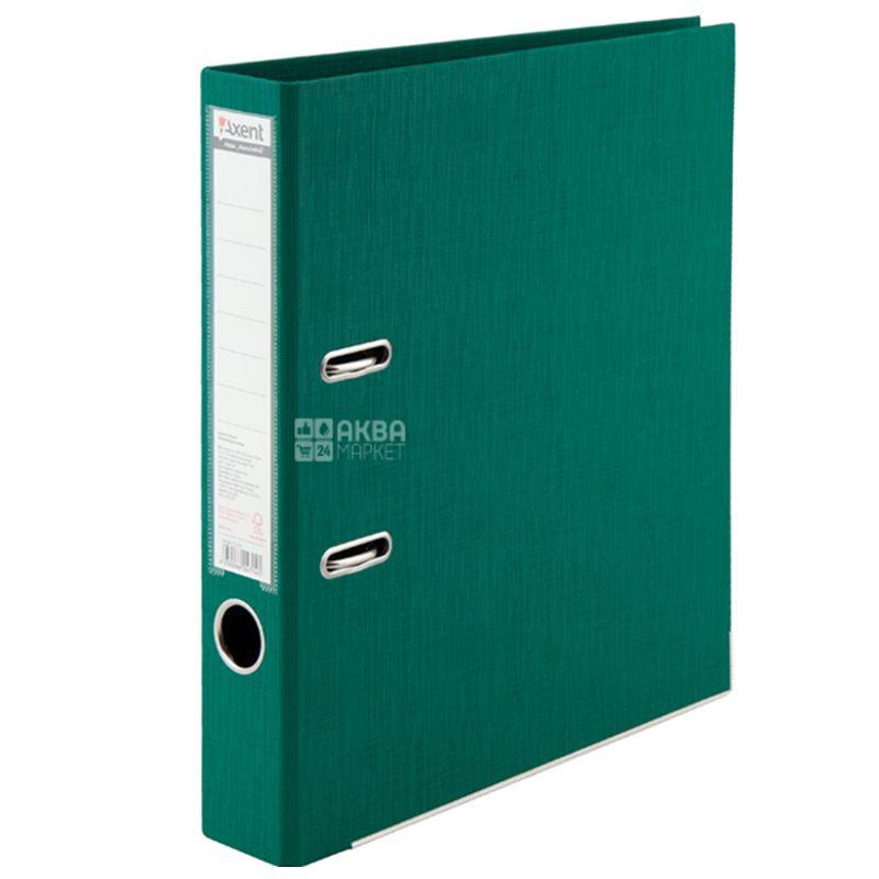 Axent Prestige+, Папка-регистратор, А4, 5 см, зеленая