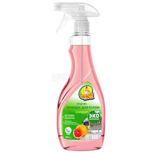 Freken Bok, 500 ml, Cleanser for kitchen, Universal, Grapefruit, Spray, PET