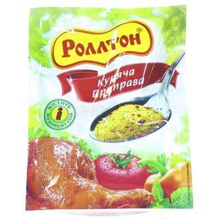 Роллтон, Приправа куриная универсальная, 80г, мягкая упаковка