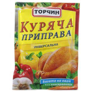 Торчин Продукт, Приправа куряча, 90г, м'яка упаковка