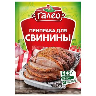 GALEO, seasoning for pork, 20g, soft pack