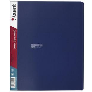 Axent, Папка на 2-х кольцах синяя, 25мм