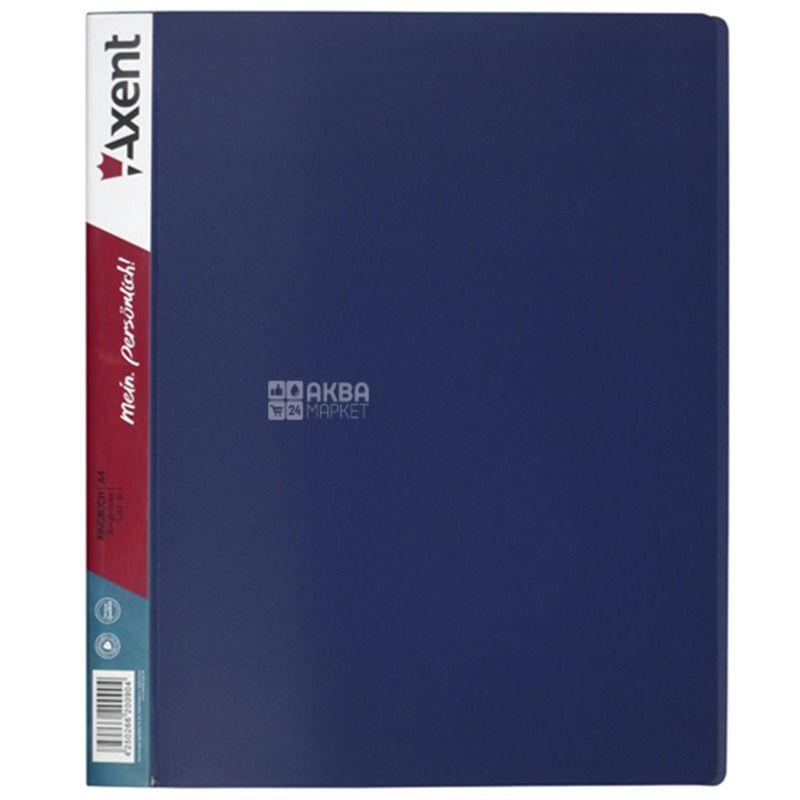 Axent, Папка на 2-х кольцах А4, 25 мм, синяя