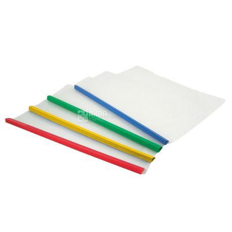Axent, Папка пластиковая с планкой-прижимом, А4, 10 мм