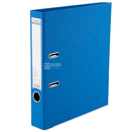 Axent, Папка-регистратор А4, блакитна, Prestige +, Ширина 5 см