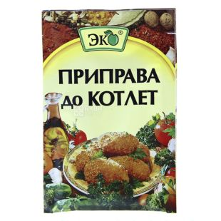 Eco, Seasoning for meatballs, 20g, soft pack